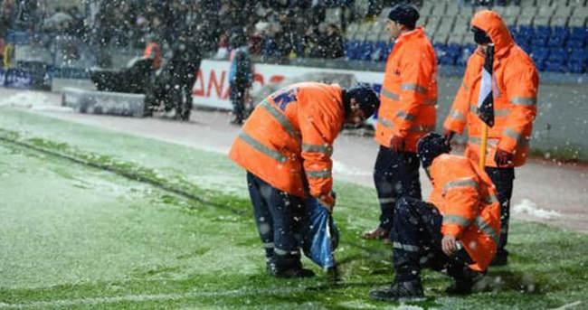 Kötü hava koşulları Süper Lig'de iki maçı tehdit ediyor