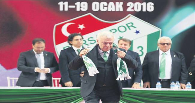Bursaspor'un UzerIne 'Ay' doGdu