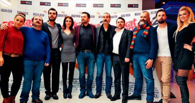 Ankara'nın ayazında film çekmek bizi zorladı