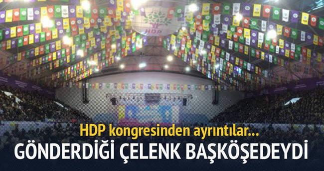 HDP kongresinde şaşırtan görüntüler