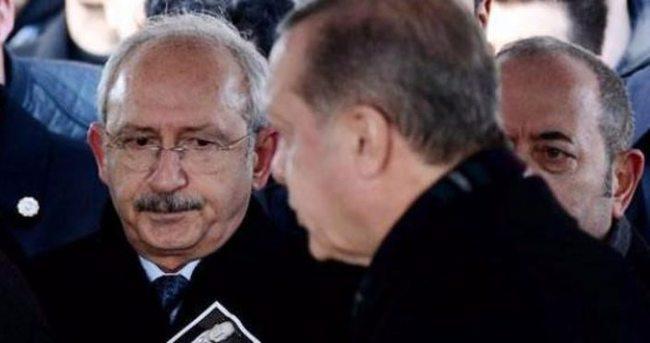 Erdoğan gelince Kılıçdaroğlu...