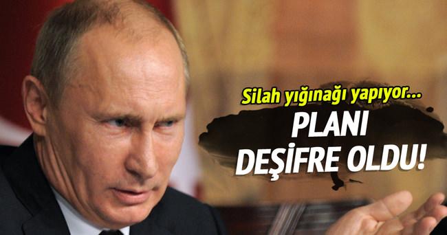 Rusya Afrin'e silah yığıyor