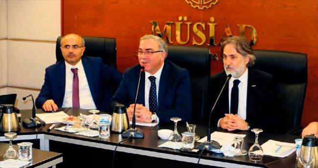MÜSİAD Ankara'nın konuğu TOKİ Başkanı Ergün Turan