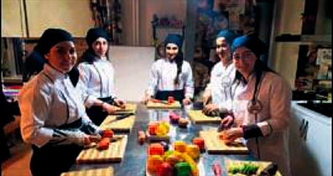 Geleceğin aşçılarına özel kurs