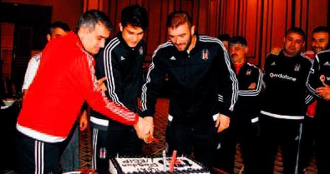 Necip'e Trabzon'da doğum günü partisi