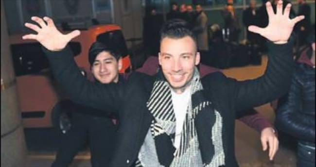 Delgado İstanbul'a ayak bastı