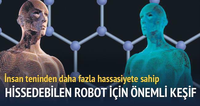Hissedebilen robot için önemli keşif