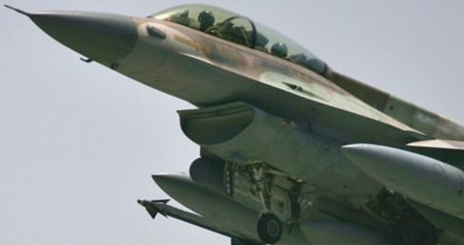 İsrail savaş uçaklarıyla Gazze'yi bombaladı