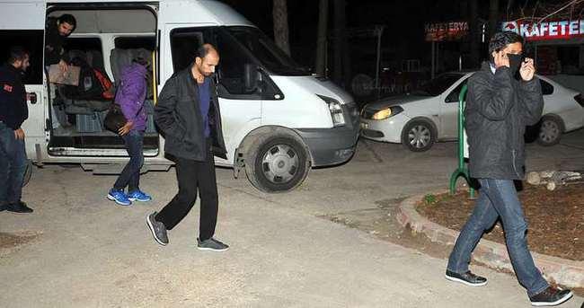 13 DAEŞ militanı tutuklandı