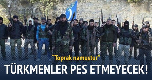 Türkmenler asla pes etmeyecek