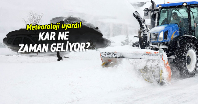 Meteoroloji'den açıklama... Kar ne zaman gidiyor?