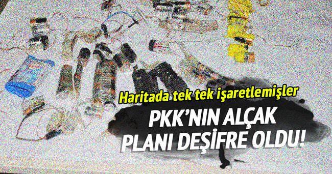 PKK'nın hain planlarını deşifre oldu