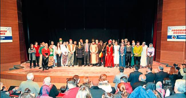 Anadolu'nun Kandilleri tiyatro gösterimi yapıldı