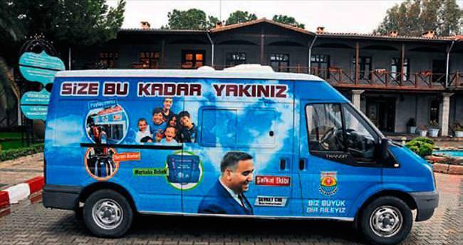 Tarsus Belediyesi 'Şefkat Ekibi' kurdu