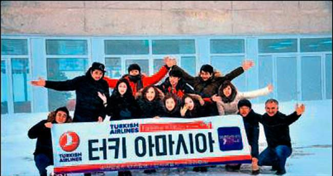 Güney Koreliler Tahtalı'ya çıktı