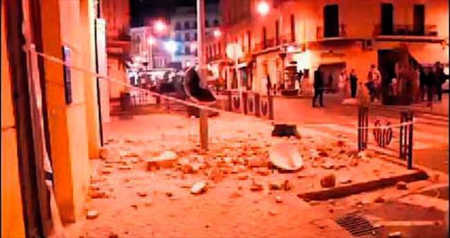Fas ve İspanya'da 6.1'lik deprem şoku