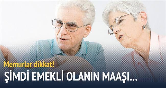 Şimdi emekli olanın maaşı 250 lira zamlı