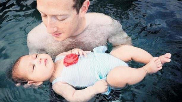 ''İlk yüzmesi, bunu sevdi''