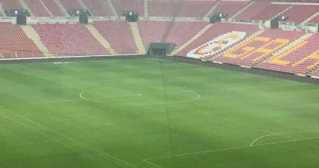 Kastamonu maçı öncesi Türk Telekom Arena'da son durum