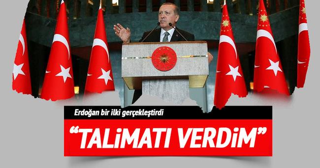 Erdoğan'dan FETÖ talimatı