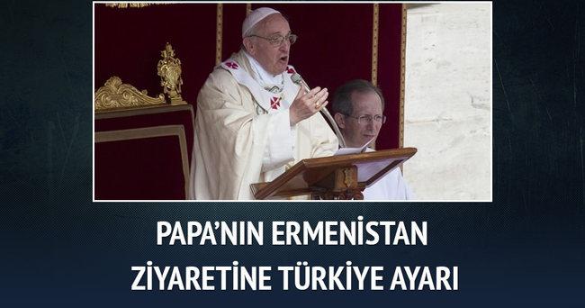 Papa'nın Ermenistan ziyaretine 'Türkiye ayarı'