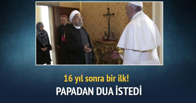 Ruhani, Papa'dan dua istedi