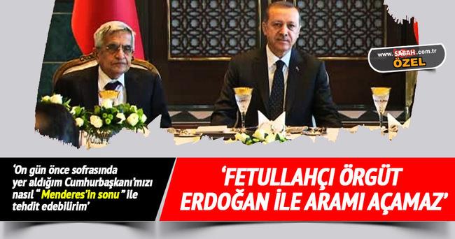 Hüseyin Hatemi: Fetullahçı örgüt Erdoğan ile aramı açamaz