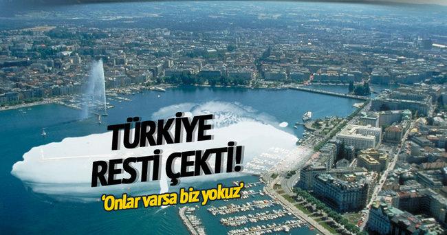 Türkiye resti çekti: PYD gelirse biz gelmeyiz