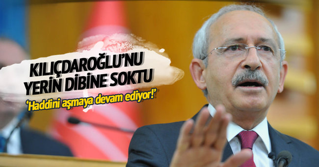 Bülent Turan: Devlet adabından yoksun Kılıçdaroğlu...