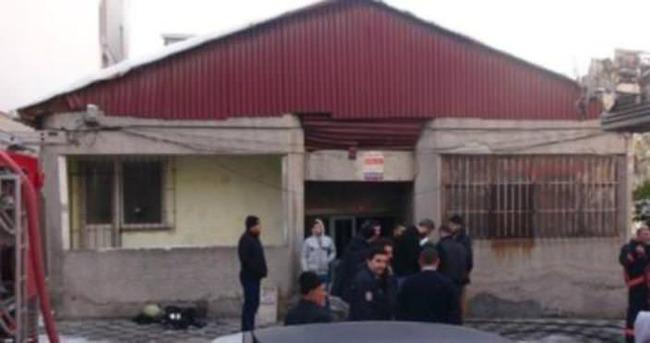 Ataşehir'de yangın: 1 ölü