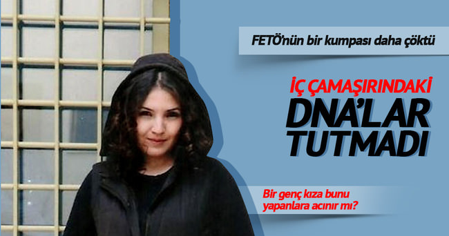 Narin Korkmaz'a iç çamaşırlı kumpas tutmadı