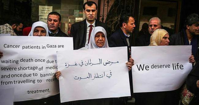 Gazzeli kanser hastaları 'İsrail ablukasında'