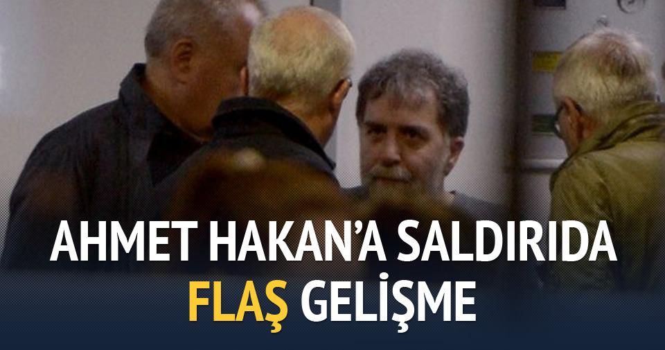 Ahmet Hakan'a saldırıda flaş gelişme