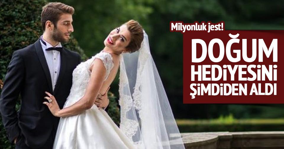 Ebru Şancı'ya eşinden milyonluk jest!