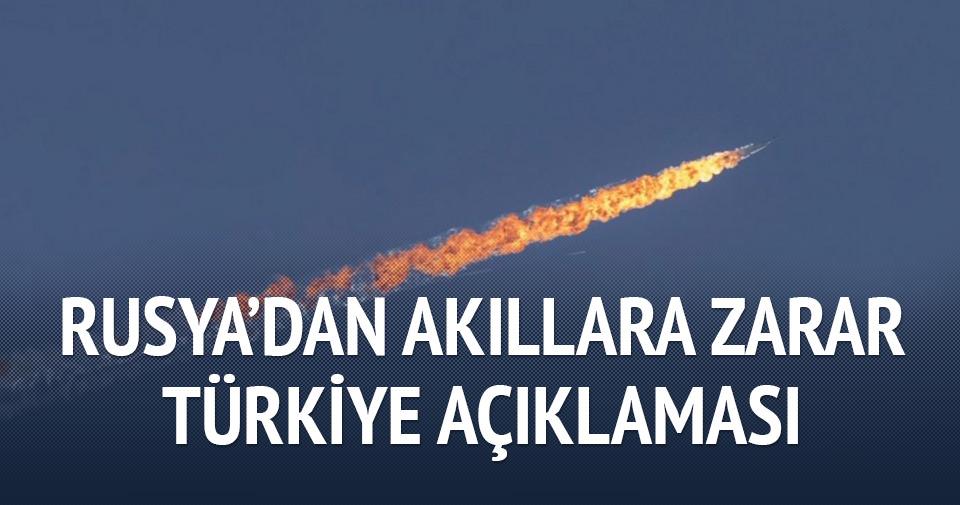 Rusya'dan akıllara zarar Türkiye açıklaması!