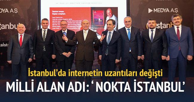 Milli alan adı: Nokta İstanbul