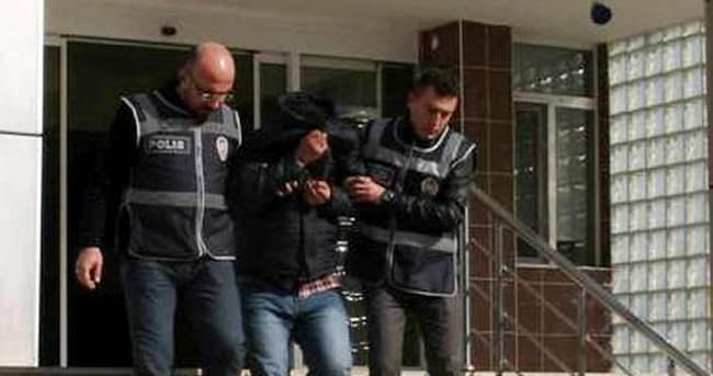 Haberde izledi hırsızı yakalattı