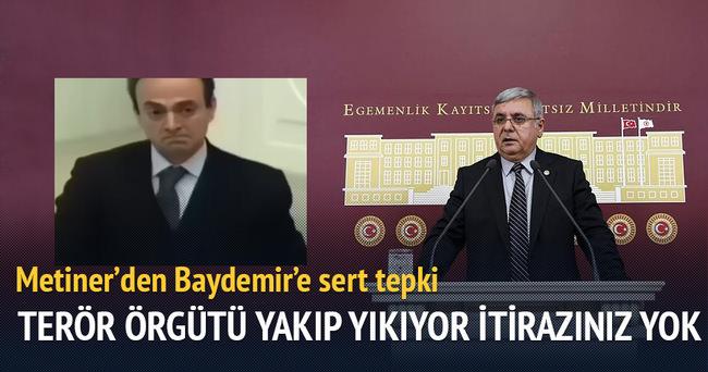 Mehmet Metiner'den Baydemir'e sert tepki