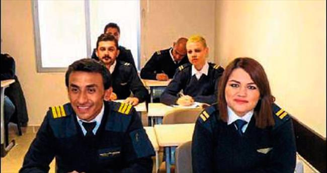 Isparta'da pilot eğitimi veriliyor