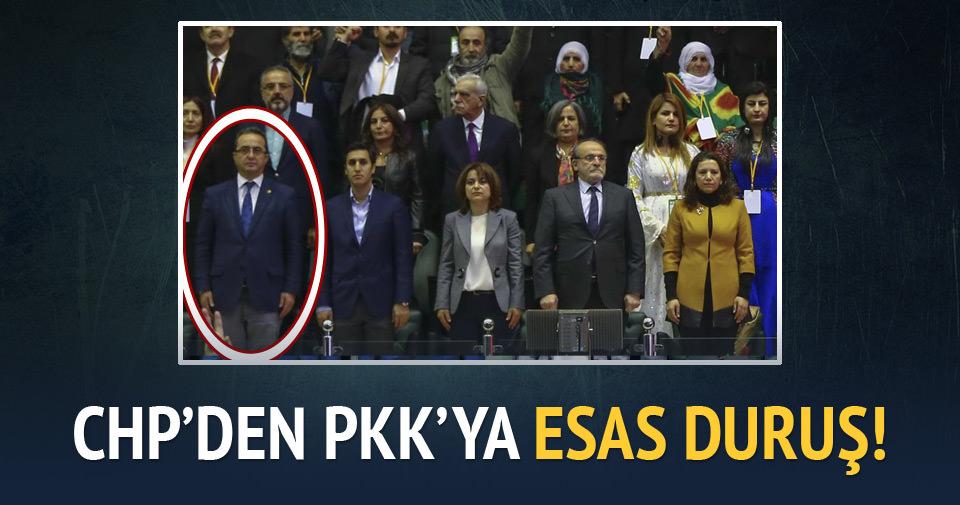 CHP'den PKK marşına esas duruş