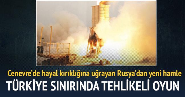 Rusya'dan Türkiye sınırında tehlikeli oyun