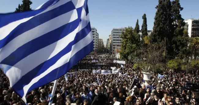 Yunanistan'da gazeteciler grevde