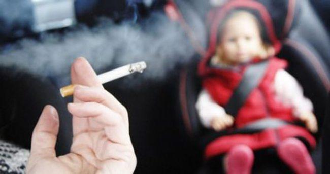 Sigara içilen ortamlarda bronşiolit tehlikesi