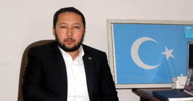 Uygurlardan Cumhurbaşkanı Erdoğan'a teşekkür