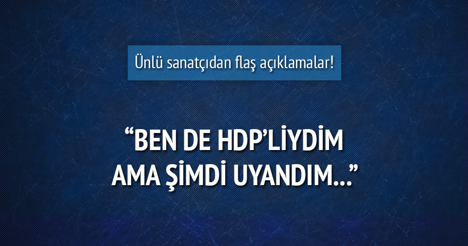 Çiyager: HDP bizi kandırdı artık uyanın