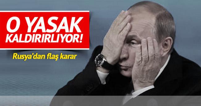 Rusya'dan flaş karar! Turizm yasağını kaldırıyor