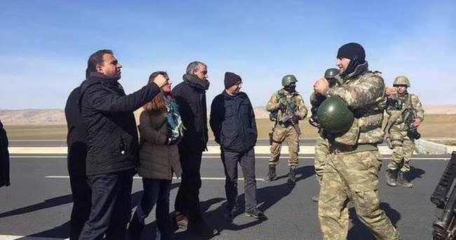 Cizre'de HDP'lilere polis müdahalesi