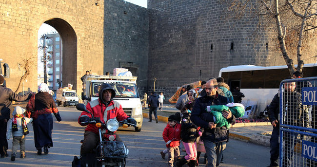 Diyarbakır'da göç devam ediyor!