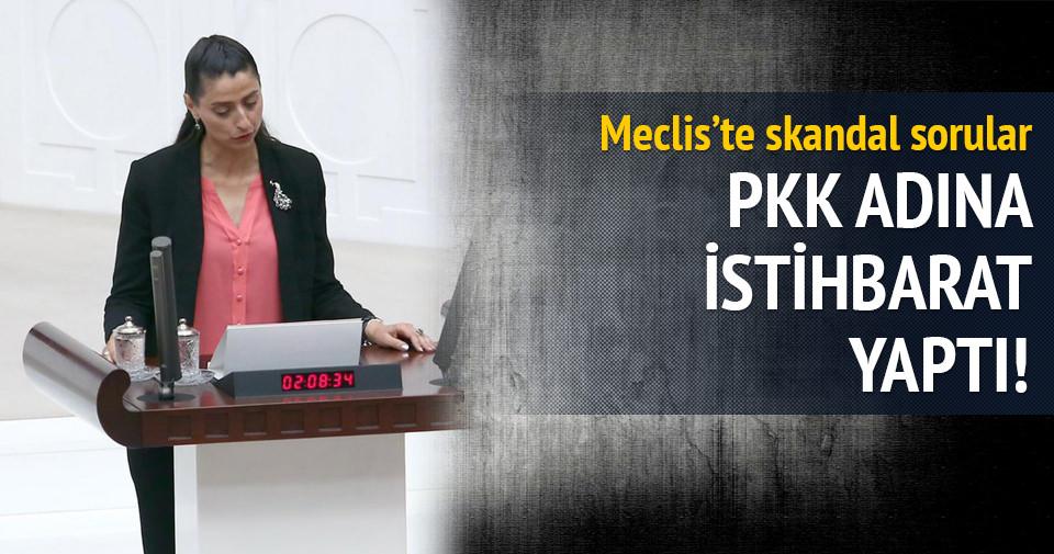HDP'li vekil Feleknas Uca'dan Meclis'te skandal sorular
