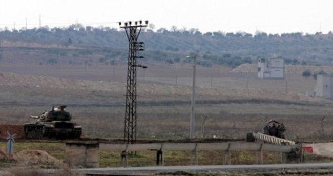 Sınırda Türk askerine ateş açıldı!
